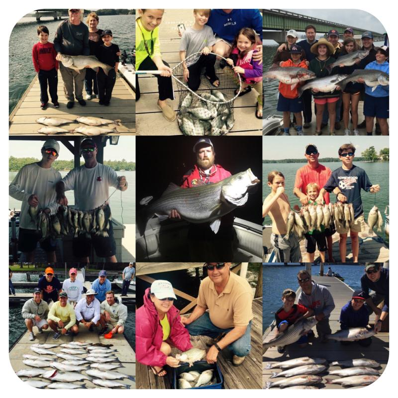 Lake Martin Fishing Guides - Pictures Link