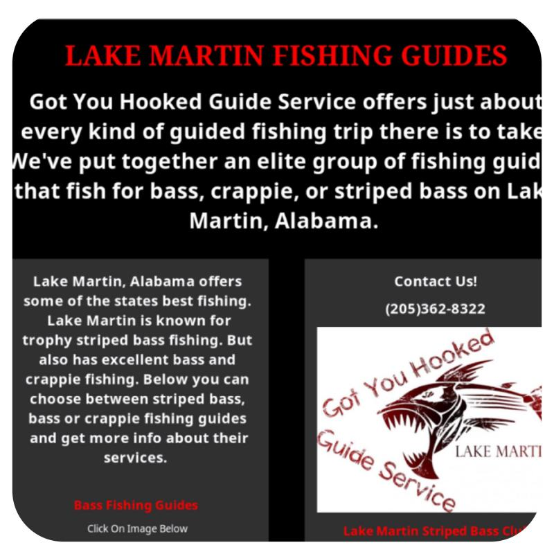 Lake Martin Fishing Guides Link