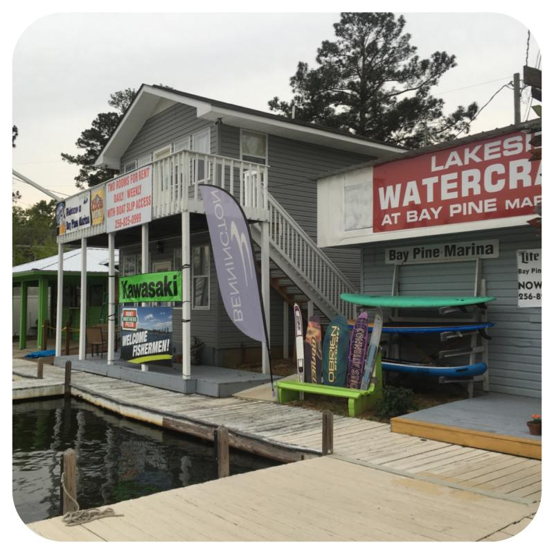 Bay Pines Marina - Lake Martin, Alabama. Home Of Got You Hooked Guide Service